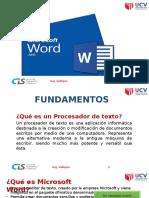 Fundamentos Word 2013