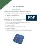 ERU Lab Presentation