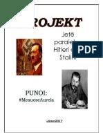 Jetë paralele . Hitleri dhe Stalini