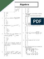 Algebra Test 3