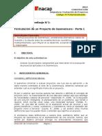 G01. Evaluación de Proyectos