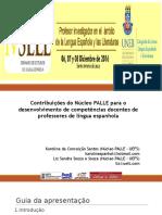 Contribuições do Núcleo PALLE para o desenvolvimento de competências docentes de professores de língua espanhola