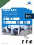 Bizhub C368 Machine Brochure
