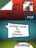 KEL 4. (IVAS&RANA) Understanding Strategic Issues