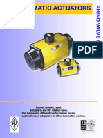 Rhino AP Pneumatic Actuators