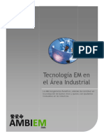Tecnología EM en el Área Industrial