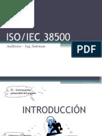 Ponencia ISOIEC 38500