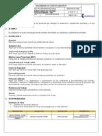Formato de seguridad 003 Andamios y Plataformas Elevadas.