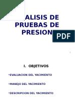 Analisis de Pruebas de Presion