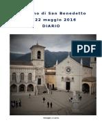 2016 Diario Cammino San Benedetto