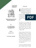 Impacto de Los Precios El Salvador Maestria
