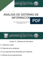 Analisis de Sistemas de Informacion III