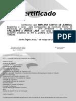 Certificado CIPA 2015-MARLENE SANTOS DE ALMEIDA.ppt
