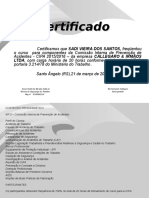 Certificado CIPA 2015-SADI VIEIRA DOS SANTOS.ppt