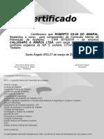 Certificado CIPA 2015-ROBERTO SILVA DO AMARAL.ppt