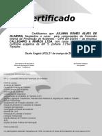 Certificado CIPA 2015-JULIANA GOMES ALVES DE OLIVEIRA.ppt