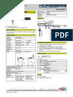 Level Switch Datasheet