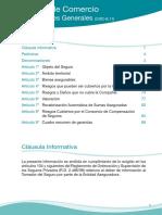 Condicionado General de comercio de seguros Cajamar