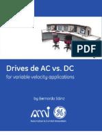 Drives de AC vs. DC for variable velocity applications