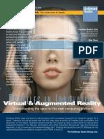 Virtual reality report (by Goldman Sachs)