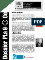 Dossier Pla 9 - Codi 41