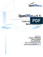 OpenOffice 1.1 User Manual (French)