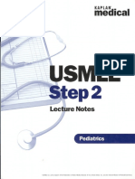USMLE Pediatrics Step 2 - Notes WW