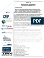 Coalition Letter Against Tax Grab in Wyoming