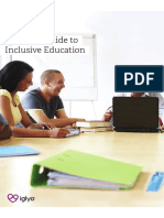 Teacher's Guide to Inclusive Education