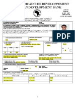 Tarun Das CV for Gambia in AFDB Format