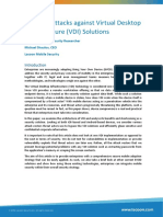 Us 14 Brodie a Practical Attack Against VDI Solutions WP