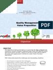 FEPL Value Preposition & Quality Management