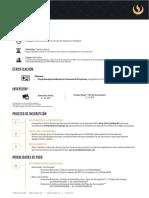 Hoja Informativa PRG Gerencia de Proyectos 2017 I