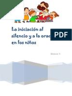 Módulo V - La iniciación al silencio y a la oración en los niños