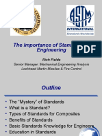 Importance of Standards 2008-09-11