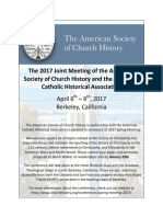 ASCH 2017 Spring Conference