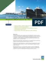 Master Checklist