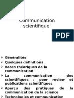 Communication Scientifique
