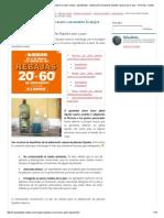 Cómo Hacer Jabón Líquido Casero_ Encuentra La Mejor Receta __ Ingredientes __ Elaboración de Jabones Líquidos Caseros Para Ropa __ Fórmulas, Recetas