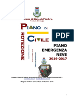 Piano Neve 2016-2017