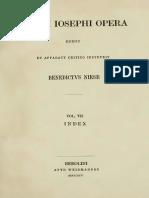 Niese-Flavii Ioseph Opera-Vol. VII-Index-1895.pdf.pdf