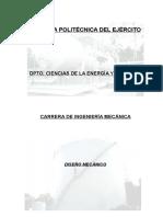 APUNTES DE DISEÑO MECANICO