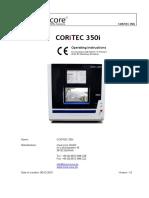 Manual Imes Icore 350i Inglês