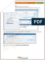 OPM - Oracle Process Manufacturing Setups Training Manual