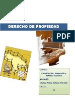 Monografia Derecho de Propiedad