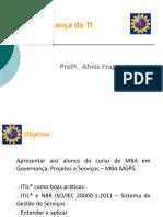 Governança Em TI - ITIL e ISO20000_AhnisFraga