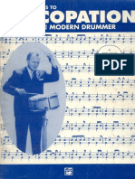 Ted Reed - Progressive Steps To Syncopation For The Modern Drummer.pdf
