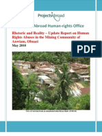 Anwiam Report - May 2010
