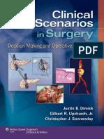 2012 Clinical Scenarios in Surgery