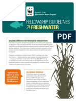Guidelines FreshwaterFellowship